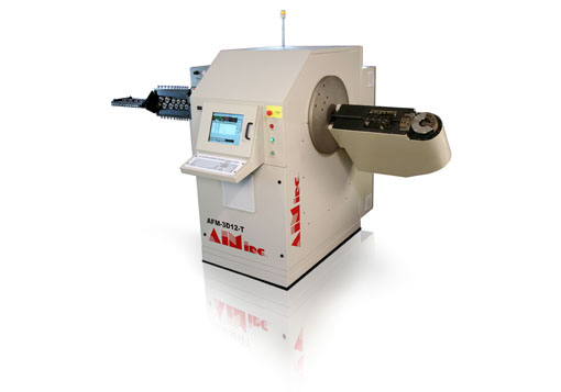 H. E. Orr AIM 3D-12T CNC wire forming machine